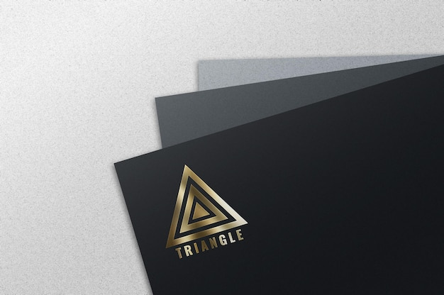 Luxus-goldfolien-logo-modell