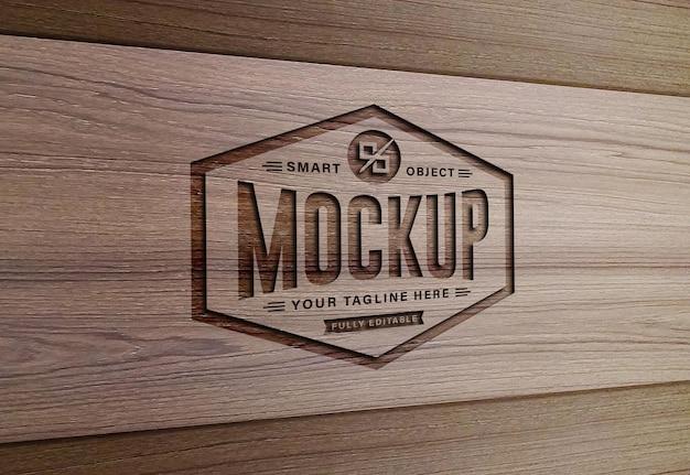 Luxus modern text effect mockup design