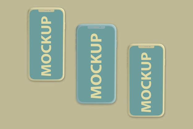 Luxus-telefonbildschirm-modelldesign