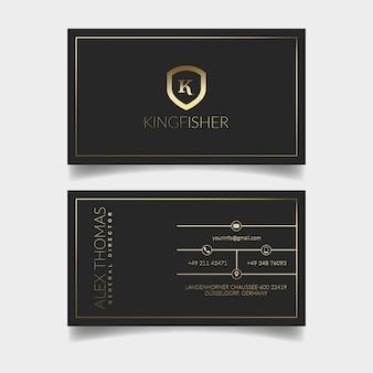 Luxus-visitenkarte