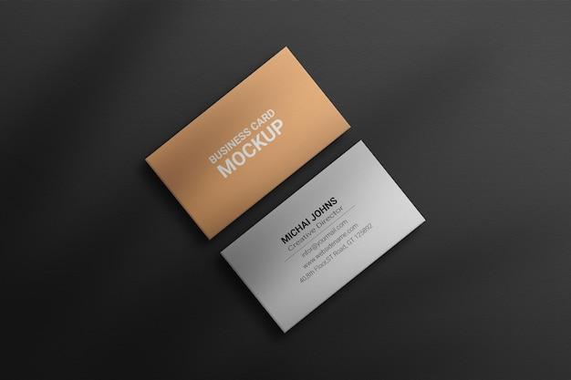 Luxus-visitenkartenmodell premium photoshop