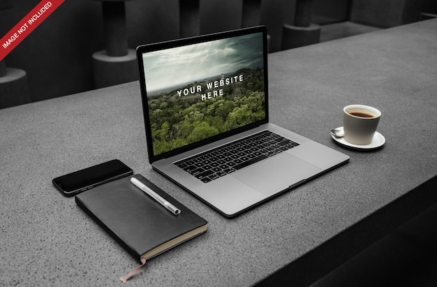 Macbook pro psd-modell