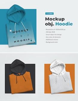 Männer mockup hoodie