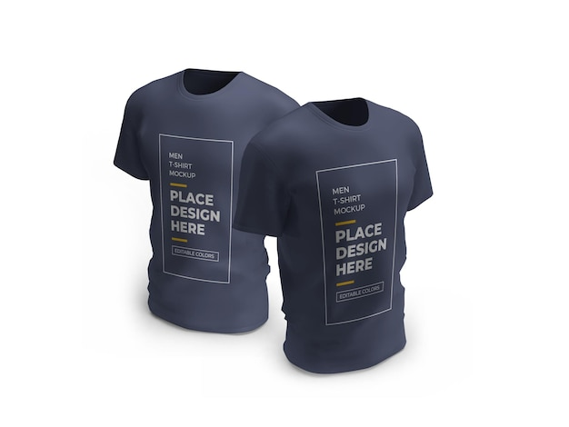 Männliches t-shirt modell