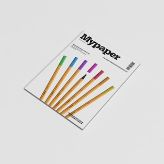 Magazin-cover mock-up