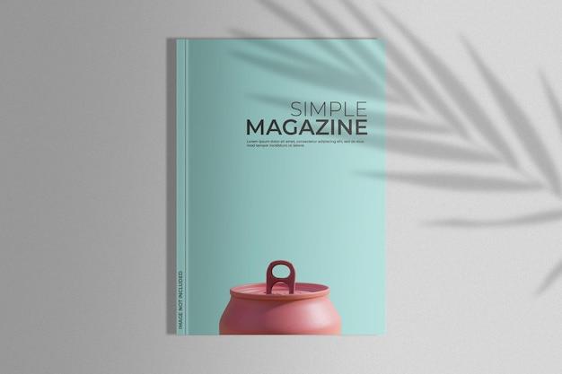Magazin mit palmenschatten verspotten