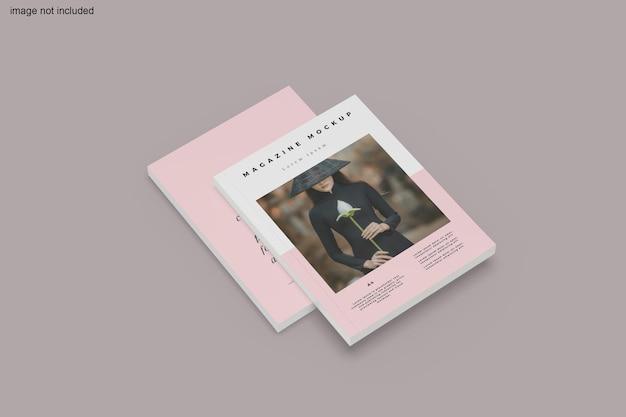 Magazin mockup design rendering