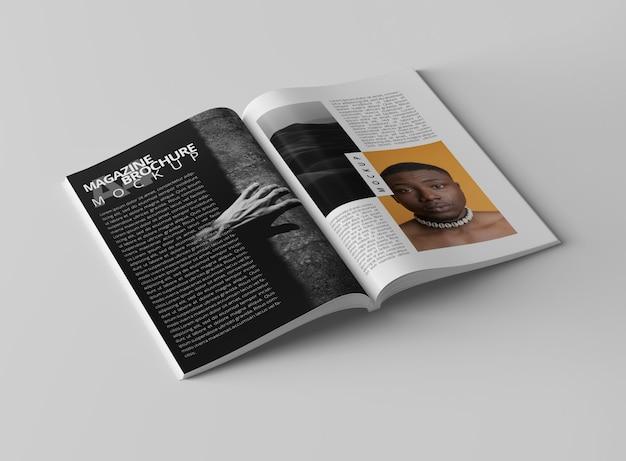 Magazin mockup