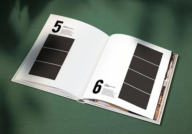 Magazin-modell mit einer leerstelle