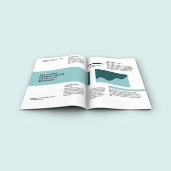 Magazin-modellvorlage
