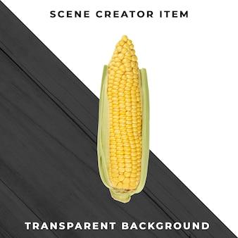 Mais isoliert mit schnittpfad.