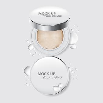 Make-up kissen pulver