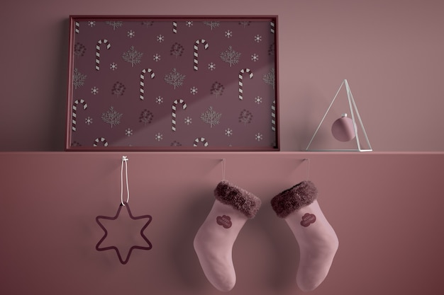 Malen thematisch für weihnachten