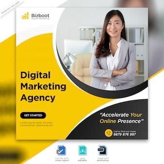 Marketing business social media post Premium PSD