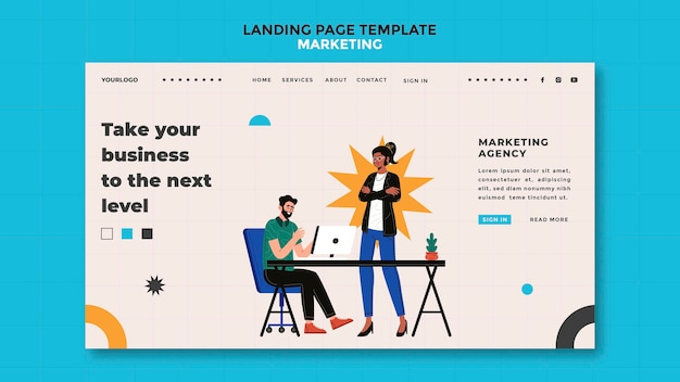 Marketing-landingpage