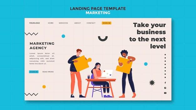 Marketing-landingpage