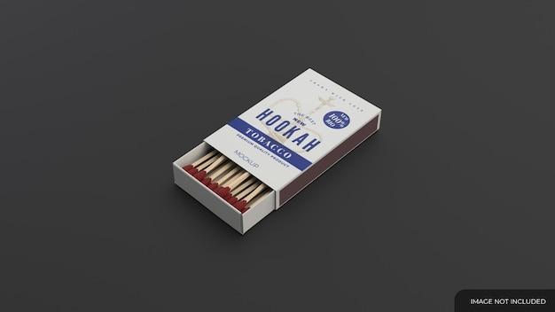 Matches box mockup