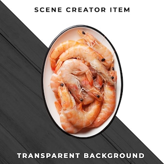 Meeresfrüchte mahlzeit transparent psd