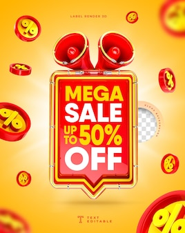 Mega sale 3d megaphon box flash sale bis zu 50 rabatt