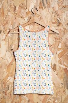 Mehrfarbiges hemdkonzeptmodell