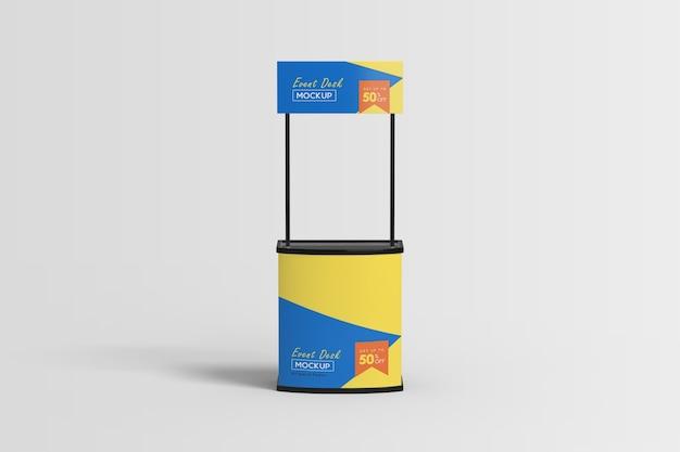 Messestand stand display mockup