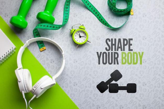 Messinstrumente und fitnessgeräte