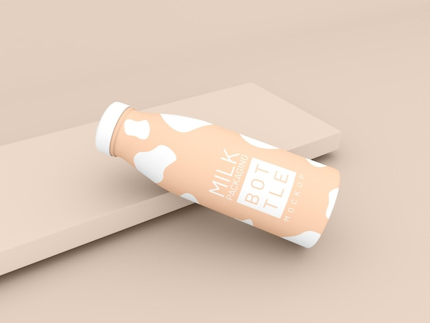 Milchflaschenverpackungsmodell