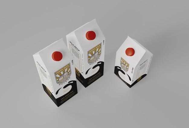 Milchziegelmodell