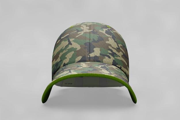 Militär-cap-modell