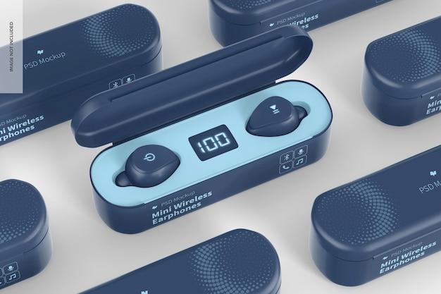 Mini-wireless-kopfhörer-modell