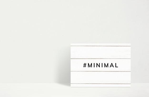 Minimaler moderner rahmen