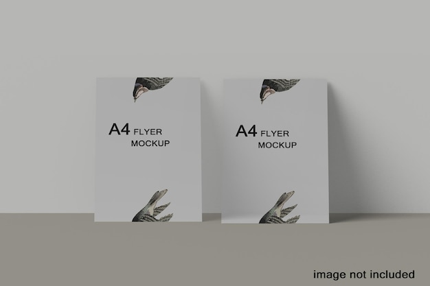 Minimales a4-flyer-mockup-design