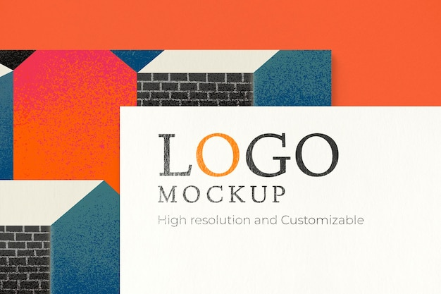 Minimales corporate identity-mockup-psd-branding-briefpapierset