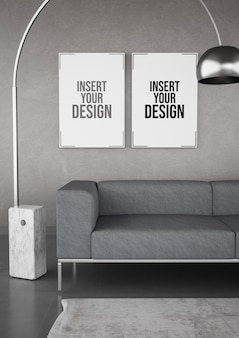 Minimales modernes interieur