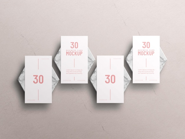 Minimales visitenkartenmodell