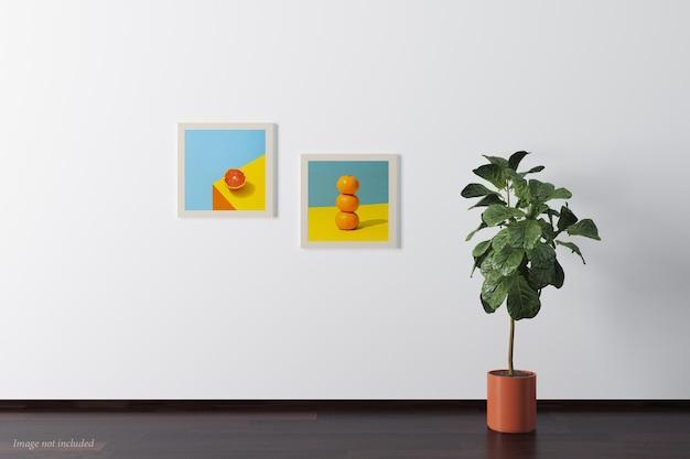 Minimalistische quadratische rahmenmodelle
