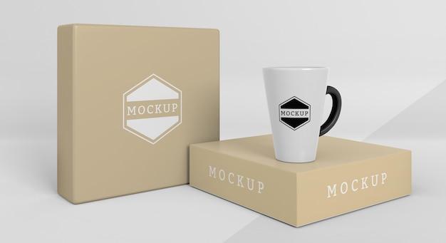 Mock-up becherbox sortiment box