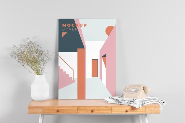 Mock-up der innenarchitektur