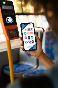 Mock-up-smartphone-bezahl-app-bildschirm