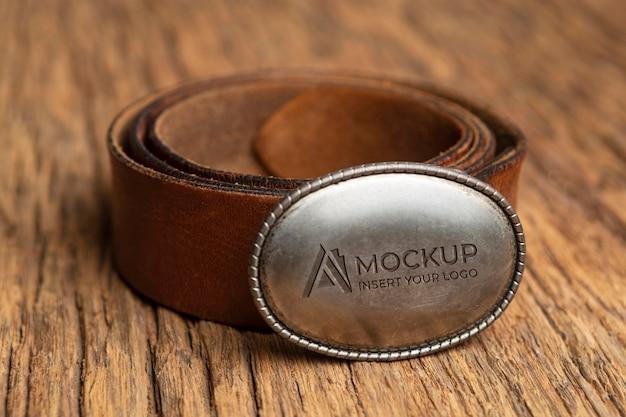 Mock-up-sortiment für vintage-merchandising-accessoires