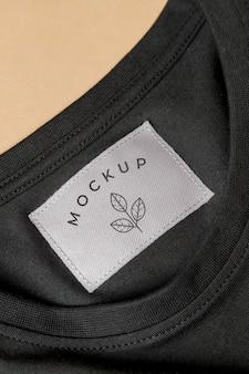 Mockup bluse nahaufnahme