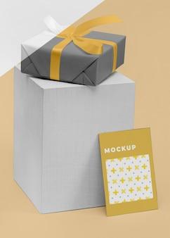 Mockup geschenkbox