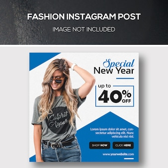Mode instagram beitrag