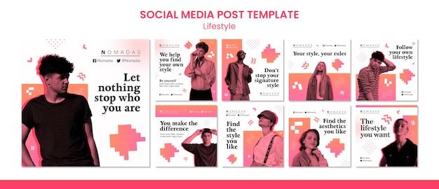 Mode-lifestyle-social-media-beitrag