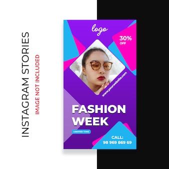 Mode verkauf instagram story-vorlage