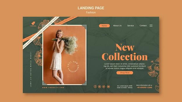Model landing page