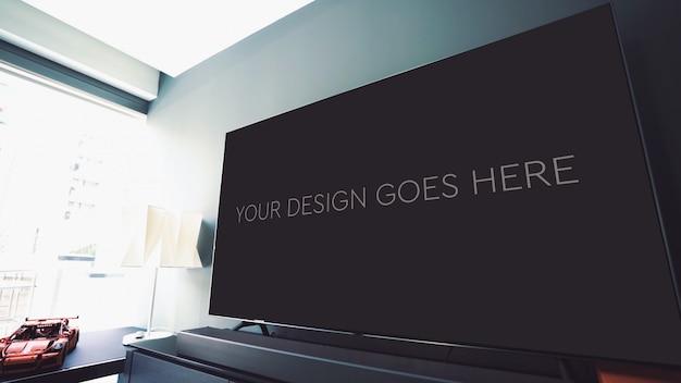 Modell der fernsehanzeige