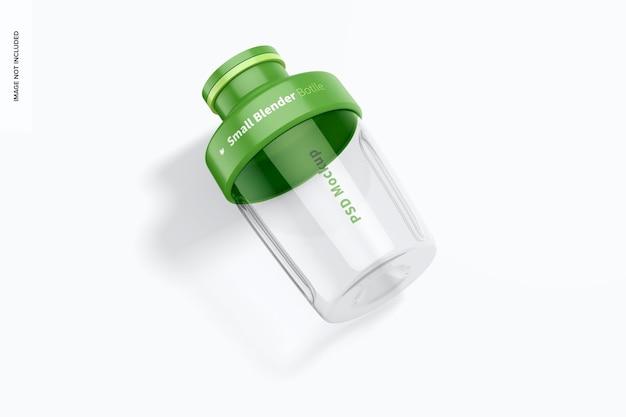 Modell der kleinen mixerflasche, ansicht von oben
