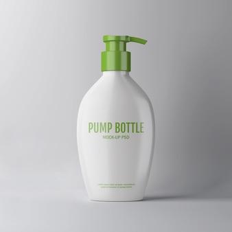 Modell der pumpflasche