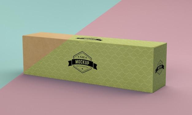 Modell der verpackungsbox